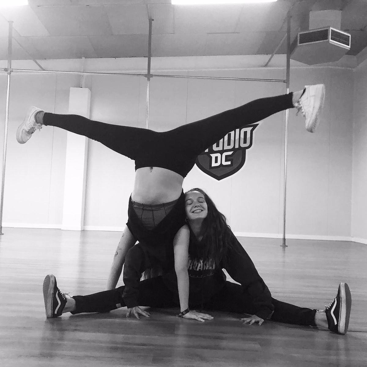Fotografía de baile de Paula Molina publicada en su perfil mydance